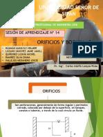 EXPOSICIÓN ORIFICIOS Y BOQUILLAS