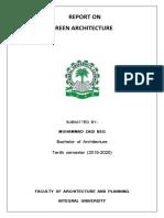 Green architecture.docx