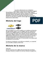 Historia de chevrolete