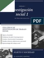 Investigación social 1