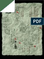 Mapa ciudad sumergida Indiana Jones
