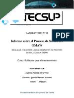 Laboratorio n1 Proceso Gmaw