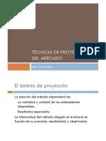 Tema 1.3 Técnicas de Proyección de Mercado