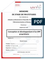Conception-Developpement-ERP