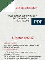 Factorizacion BALDOR.ppt