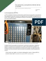 Cómo funcionan los sensores y actuadores detrás de las RTU y los sistemas SCADA