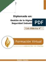 Modulo 1 diplomado en seguridad industrial