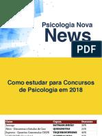 Concursos Abertos Janeiro 2018