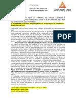 8° SEMESTRE CCO 2020 - Negociação local - Implantação de uma fábrica de sapatos de luxo.