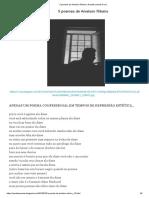 5 poemas de Anielson Ribeiro _ Amaité poesias & cia_