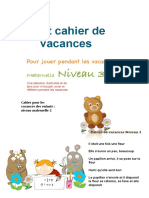 Petit cahier de - vacances Maternelle Niveau 3_curatat