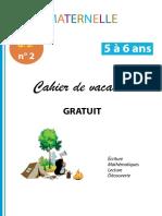 Cahier de vacances Maternelle GS nr2_5 á 6 ans