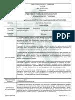 COMUNICACION ESCRITA PARA CUALIFICACION DE INSTRUCTORES