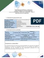Guía de actividades y rúbrica de evaluación - Paso 4 - Especificación de requisitos (4)