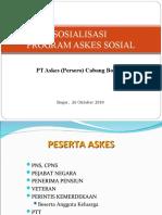 SOSIALISASI ASKES 261010