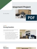 joshua mihai - senior project progress presentation  quarter 1 phase 1