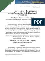 Dialnet-ElCuerpoDocenteYLosProcesosDeConfiguracionDeLaIdentidad