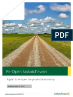 Re-Open Saskatchewan Plan (updated May 8)