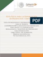 GUIA DE EXPORTACION PRINCIPAL