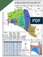 Hidro Peta Sebaran Stasiun Hidrologi