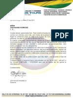 COTIZACION CONGRESO COMUNALES CALI 2019
