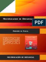Multiplicacion de Distancias