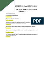LA TOPOGRAFÍA II - AUTOEVALUACION