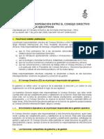 Protocolo trabajo efectivo entre CD y DE