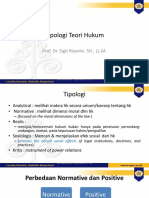 Capita Selecta Tipologi Teori March 2020