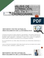 Analisi de info, ppto, th y cronograma.pptm.pptx