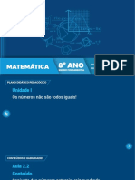 8º Ano EF Matemática - Aula 3