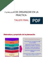 FUNCION DE ORGANIZAR