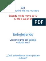 Larga Noche de los museos 2019