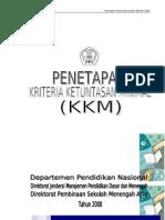 PEDOMAN PENETAPAN KKM ,270208