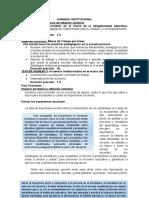 Agenda Sujeto y Sociedad - Propuesta dos