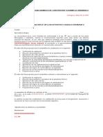 MODELO DE CONVOCATORIA ASAMBLEA DE CONSTITUCION O ASAMBLEA ORDINARIA O EXTRAORDINARIA
