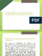 Formas De Adquirir Propiedad En Roma Y Comparada.pptx
