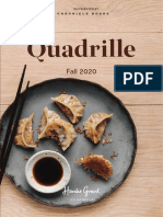 Quadrille Fall 2020 Catalog