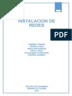 DESARROLLO DE GUÍA INSTALACION DE REDES PARTE 1
