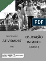 Caderno de atividades Ens. Infantil Grupo 4