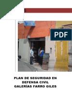 PLAN DE SEGURIDAD GALERÍAS FARRO GILES