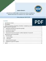 Anexo 1 Reporte de Operaciones Sospechosas ROS