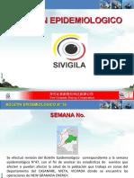 Boletin Epidemiologico Semanal SIVIGILA No 47