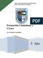 formacion ciudadana y civica 5° secundaria