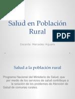 Salud en Población Rural
