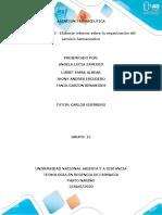 FASE 2- Elaborar informe sobre la organización del servicio farmacéutico (1)