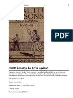 Health_Lessons Punlished in 1920