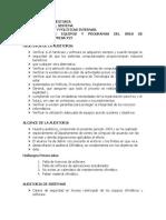 DESARROLLO DE AUDITORIA
