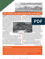Summer 2007 Nevada Wilderness Project Newsletter