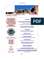 Summer 2004 Nevada Wilderness Project Newsletter